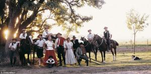 The Gauchos of Argentina are nomadic horsemen who have wandered the prairies since as early as the 1