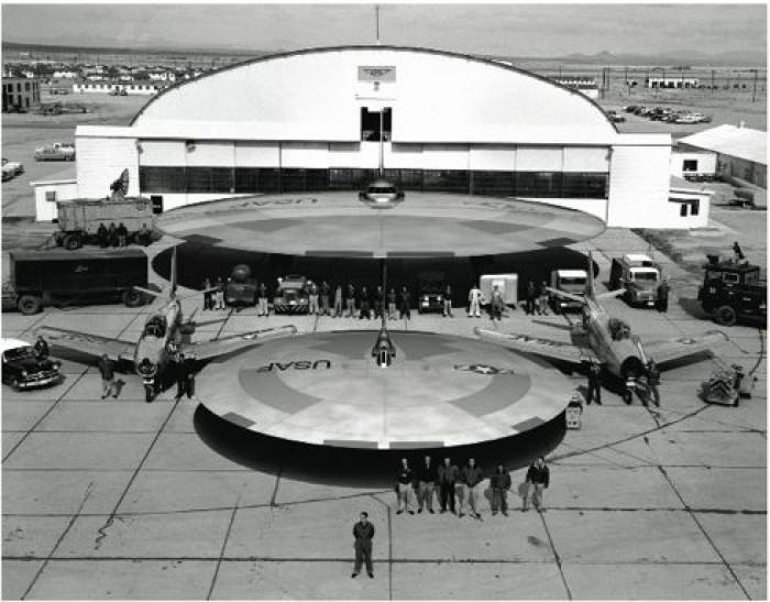 Some of the secret craft tested by the Air Force. Flying disks were in phase for awhile. It was thou