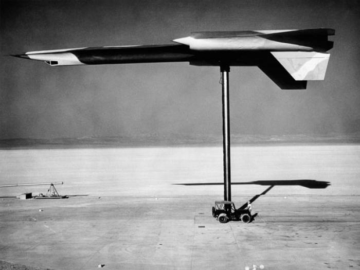The OXCART and SR 71 aircraft were developed and tested at Area 51. Various tests were conducted to