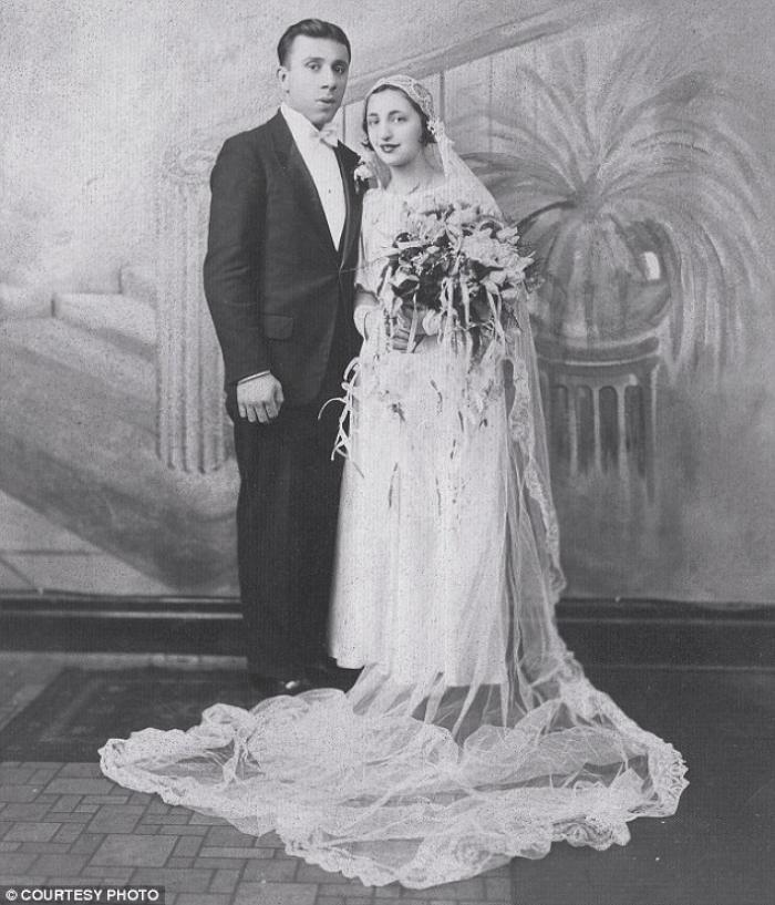 John and Ann Betar after their wedding in 1932. One family member predicted their marriage wouldn