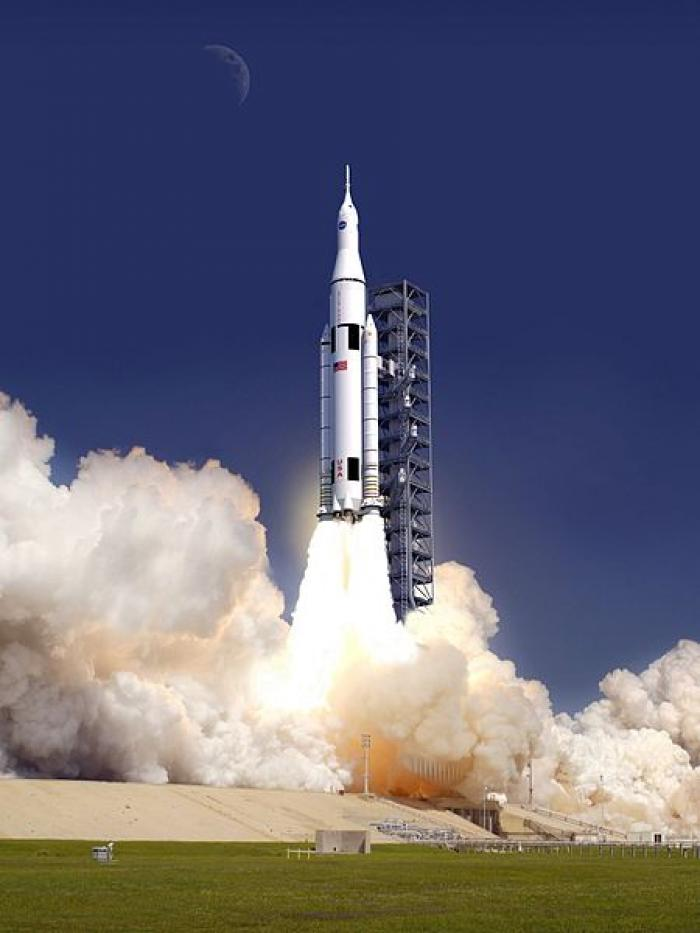 The Space Launch System rocket will carry the Orion capsule into space for the first time in 2014. L