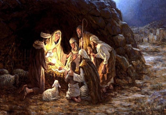 Image result for Jesus Born in a Stable