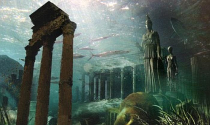 Tales of the mythical island of Atlantis first appeared in books by Greek philosopher Plato around 3