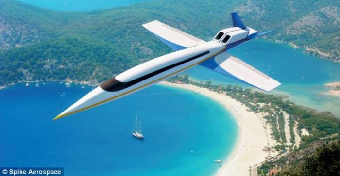 The spike S-512 is a supersonic jet that will enable travelers to reach destinations in half the tim