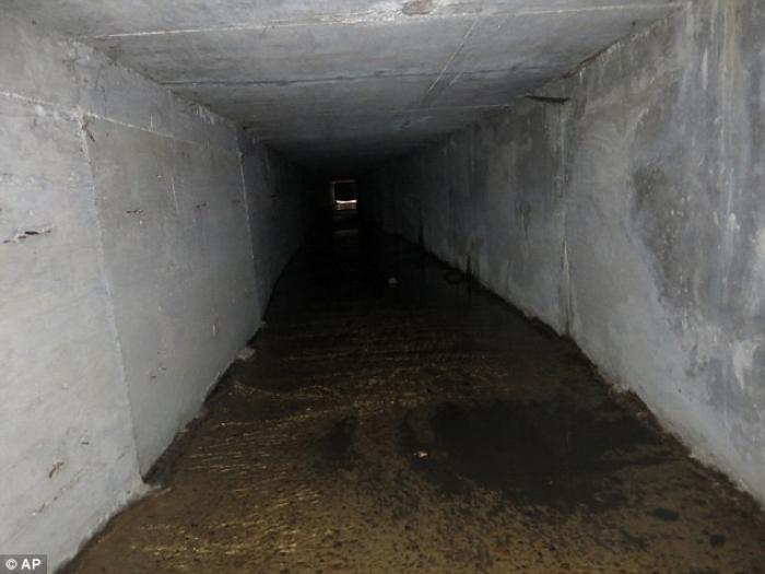 The drug lord went to great lengths to ensure he could escape, and the tunnels worked - at first.