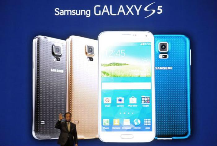 The Galaxy S5 (pictured) has handpicked features from it