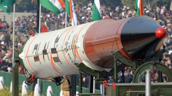 India also has nuclear weapons at its disposal.