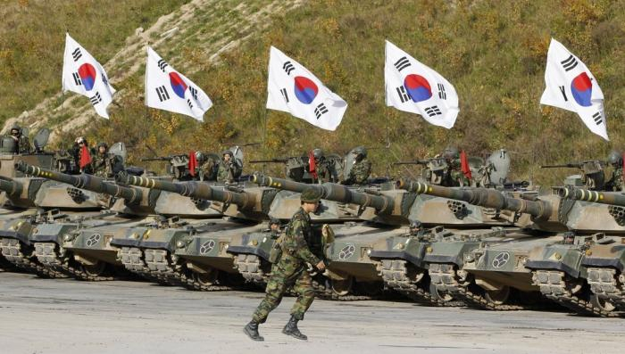 South Korea is arming itself for fear of a North Korean invasion.
