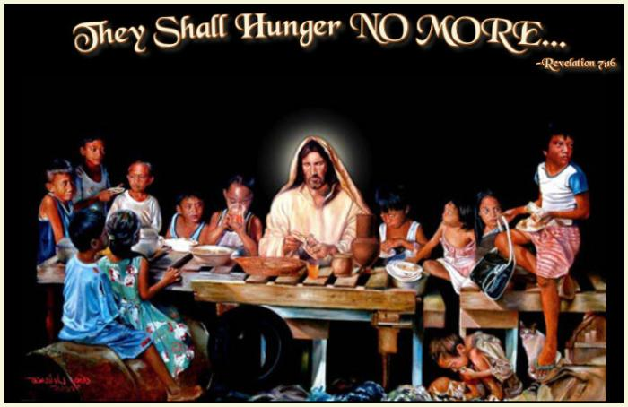 Let us feed all who hunger!