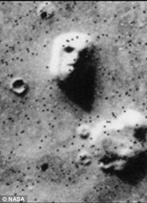 The original face on Mars image.