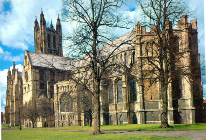 The Cantburry Cathedral is one of the oldest Christian sites in England, and home to the leader of t