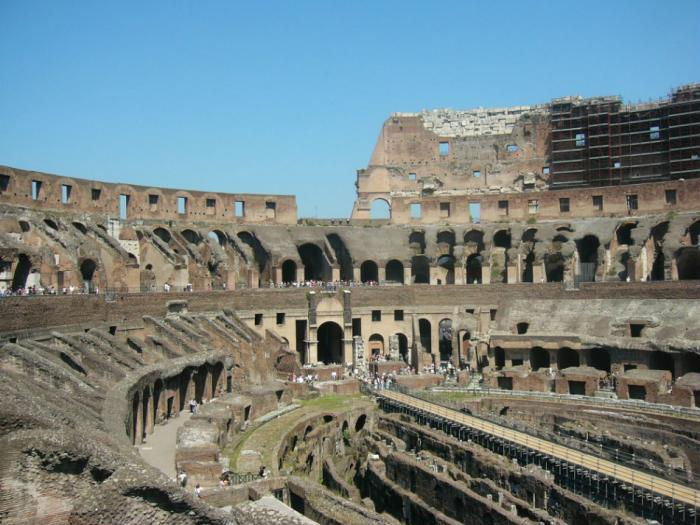 The Coliseum continues to draw in tens of thousands of tourists every year.