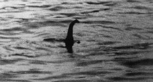 This picture, taken by Dr Kenneth Wilson in 1934, is said to show the Loch Ness Monster.