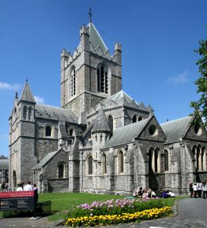 Christ Church Cathedral has endured numerous construction, rebuilding, and renovations since its fou