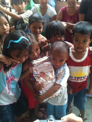 Relief sent to the Philippines made a tremendous difference in the wake of Typhoon Hiyan.