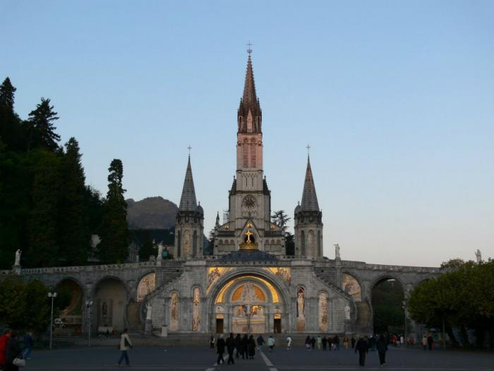 Lourdes in France is the site of massive pilgrimages for Christians, and saw apparitions of the Virg