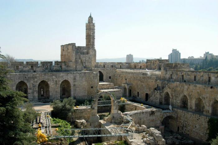 The Tower of David has been demolished and rebuilt numerous times by the rulers of Jerusalem, includ