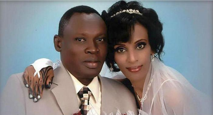 Daniel Wani married wife Meriam in 2011. She was sentenced to death in Sudan last week because the c