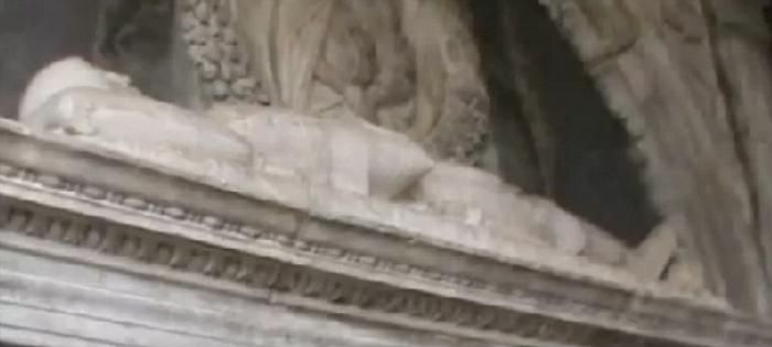 The remains of the real-life Dracula are today to be found not in the Romanian Alps but in tomb in I