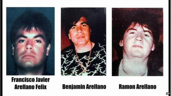 Three of the five brothers who originally founded the Tijuana drug cartel.