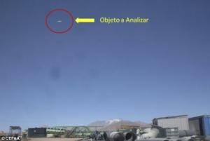 The Commitee for the Studies of Anomalous Aerial Phenomena (CEFAA) studied the photographs of an obj