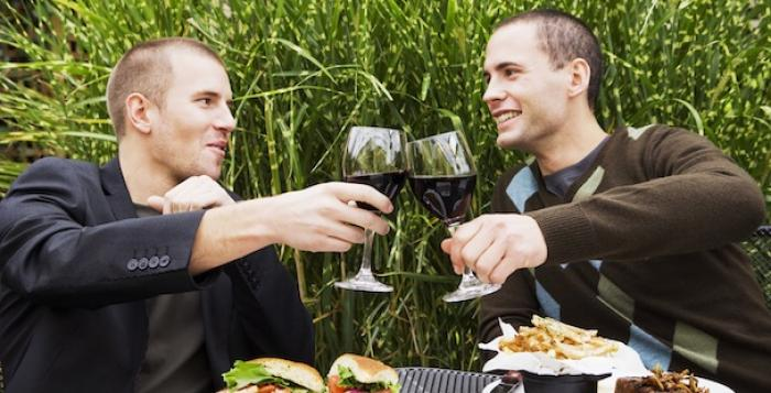 Gay men were also found to be more likely to drink to excess than their heterosexual counterparts.