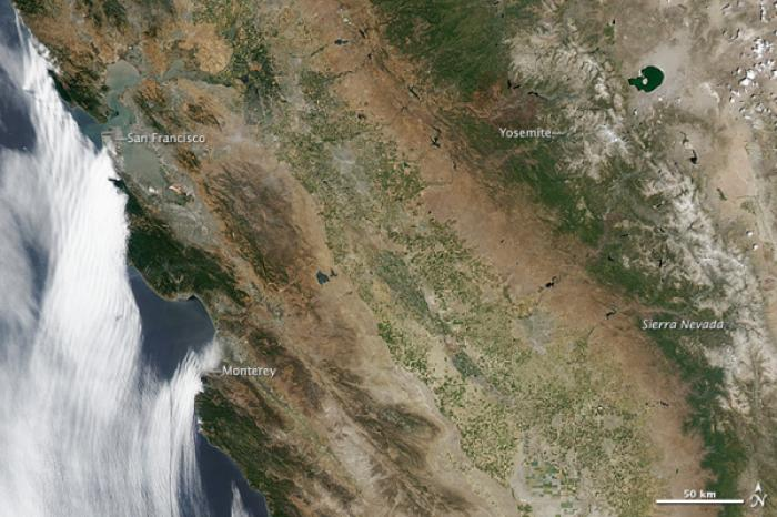 The same image of California from June 24.