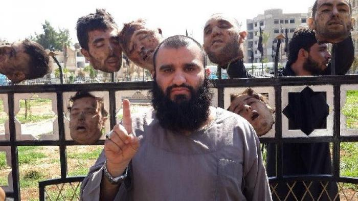 Islamic State terrorists routinely pose with their victims. It