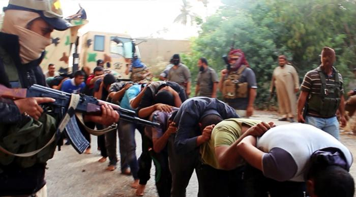 At least 500 people have been executed by ISIS in the last week. It is unclear for what infractions.