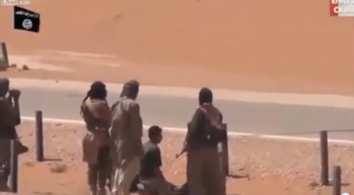 ISIS terrorists continue to film their executions and mayhem, hoping to intimidate others into joini