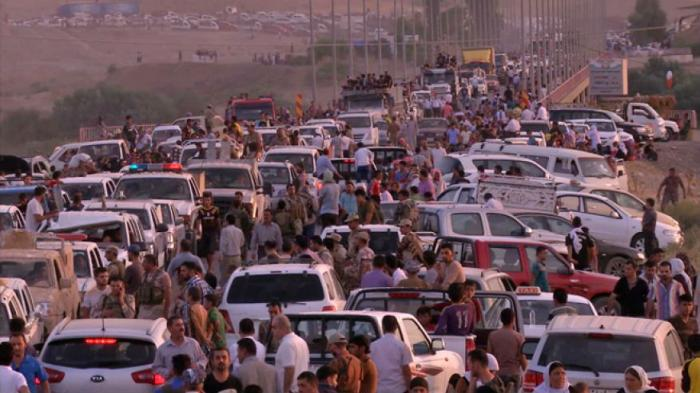 Thousands of Christians are fleeing from Iraq