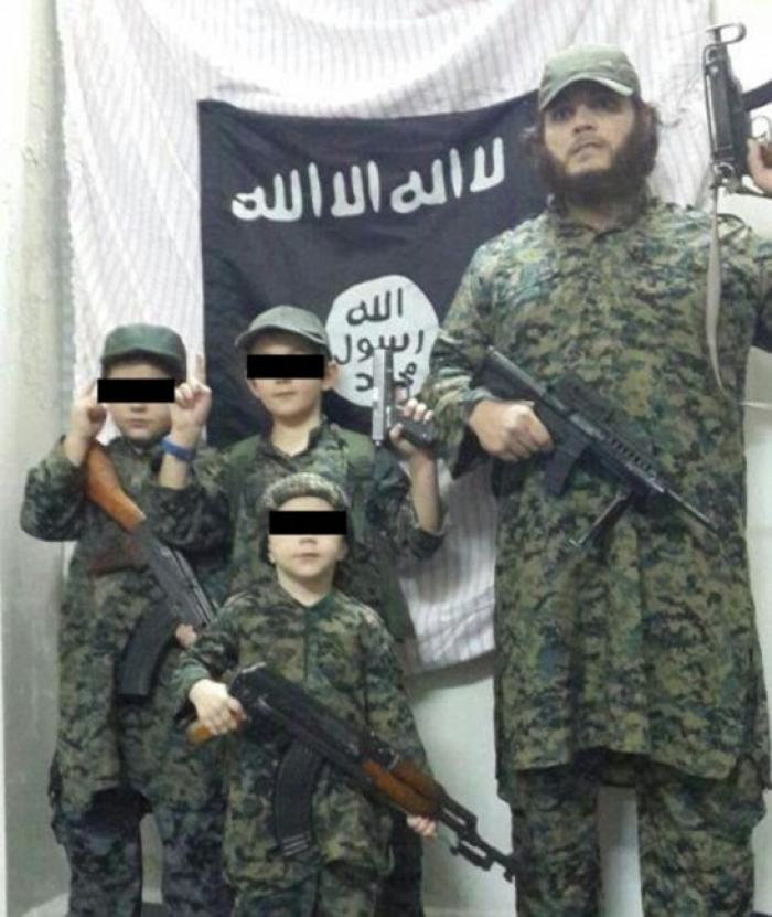 The family of Khaled Sharrouf. The family that commits jihad together commits atrocities together.