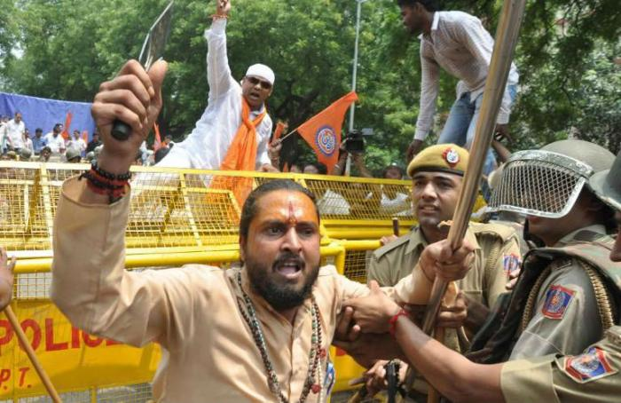 Pro-Hindu nationalist groups have taken part in constant violence against Christians, which resulted