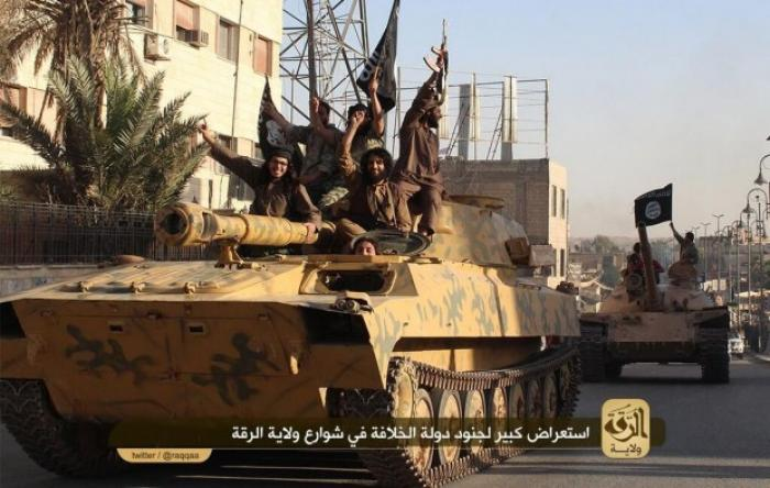 The Islamic State has a collection of armored vehicles under its control.
