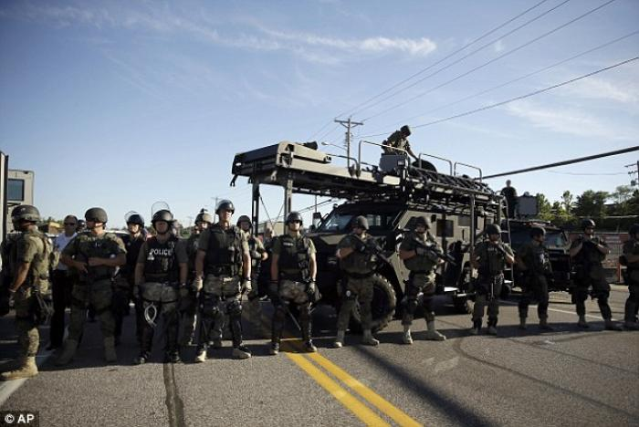 Riots have torn apart the St. Louis suburb of Ferguson. Nightly clashes between protestors and riot