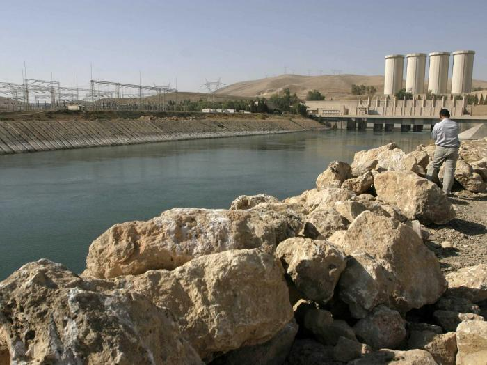 """The failure of the Mosul Dam could threaten the lives of large numbers of civilians, endanger U.S."