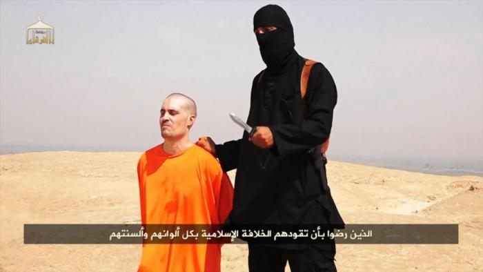 James Foley, an American journalist was executed by the Islamic State in retaliation for U.S. interv