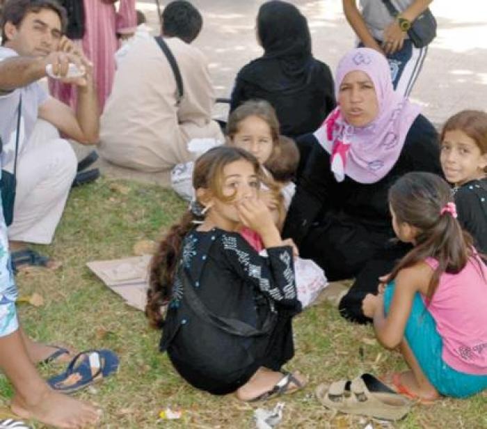All Algerians have in mind the images of Syrian families settled in Port Said Square in summer 2012