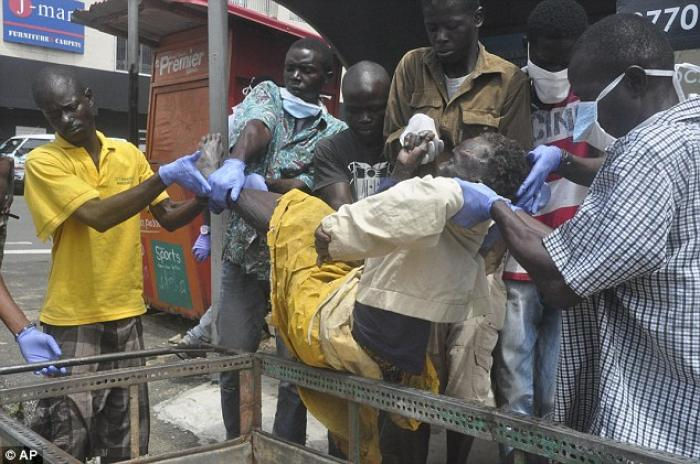 Using Ebola spread patterns and airline traffic data a team of U.S. scientists have calculated the o