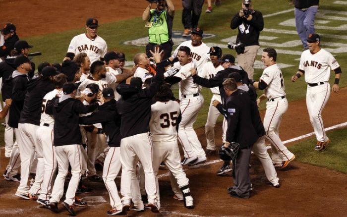 The San Francisco Giants are heading to the World Series to battle it out with the Kansas City Royal