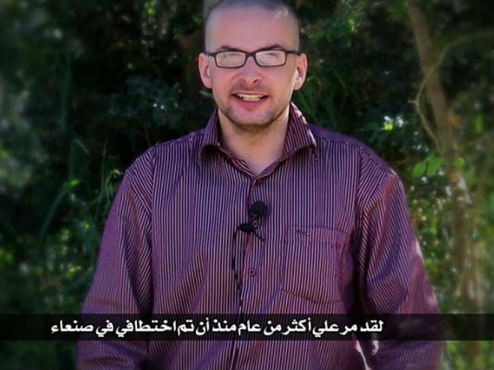 Al-Qaeda has claimed it will killed Luke Somers (pictured), an American journalist who was captured