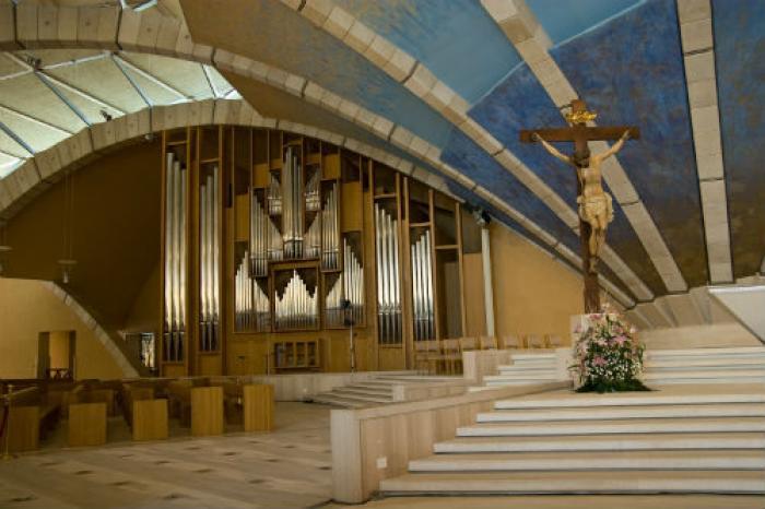 The Padre Pio Pilgrimage Church in San Giovanni Rotondo.