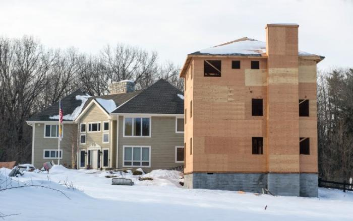 Archbishop John Myers of Newark, New Jersey, is adding a new wing to his weekend home which will bri