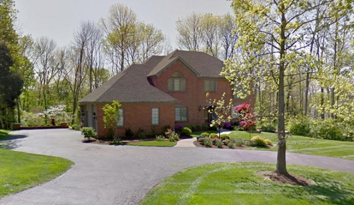 Archbishop Dennis Schnurr of Cincinnati lives alone in a four-bedroom, four bathroom house. The hous