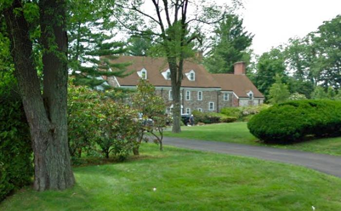Archbishop Leonard Blair of Hartford, Connecticut lives in a 9,000 sq/ft house, worth $1.85 million.