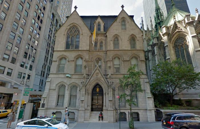 Cardinal Timothy Dolan of New York lives in a 15,000 sq/ft home in Manhattan, worth at least $30 mil