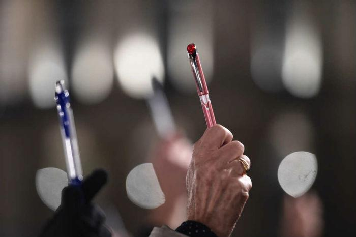 Following the brutal attack on Charlie Hebdo, pens and pencils have become a symbol of free speech.
