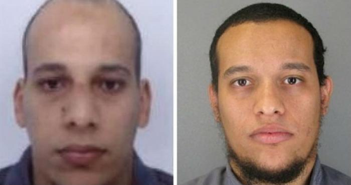 Said and Cherif Kouachi, two brothers, both in their early 30s have been identified as the gunmen re