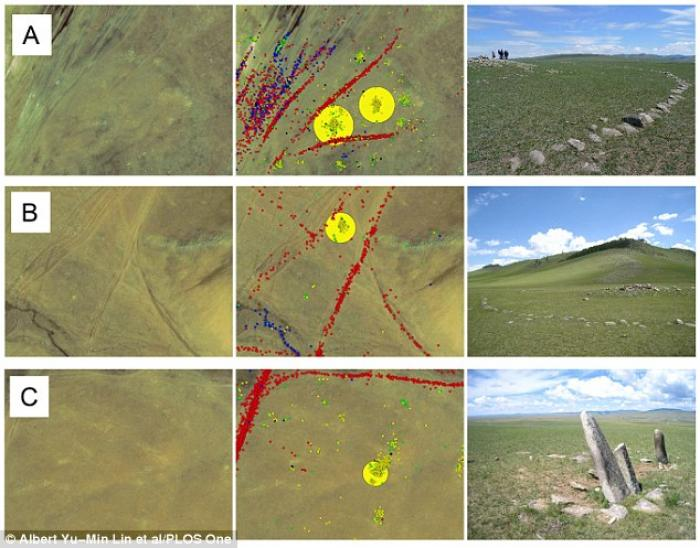 """""""The satellite images helped the archaeologists find 55 sites that were archaeologically interesting"""