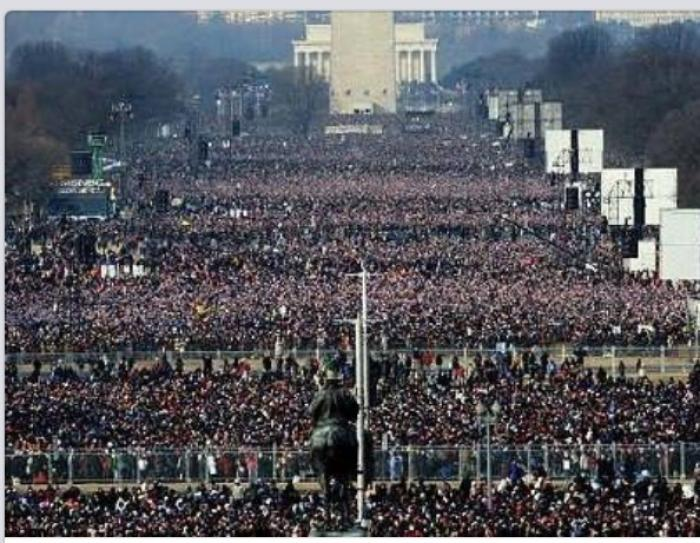 The massive crowd at pro-life march